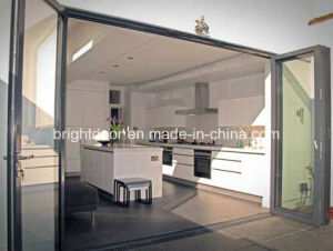 Aluminium Exterior Bifold Glass Door pictures & photos