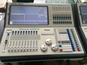 DMX512 Controller Tiger Touch 2 II 4096 Channels Titan System Console pictures & photos
