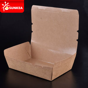 Kraft Paper Salad Soup Bread Snacks Rice Box pictures & photos