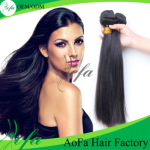 7A Grade Human Straight Hair Virgin Remy Hair Weft pictures & photos