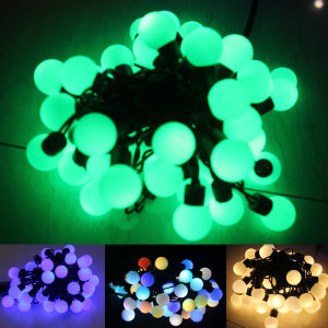 23mm Bulb Size Christmas LED Ball String Light with Different Colors pictures & photos
