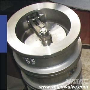Ss Body Single Disc Swing Wafer Check Valve pictures & photos