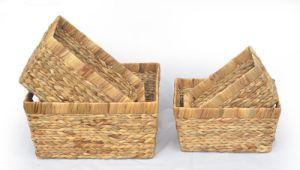 Water Hyacinth Grass Garden Basket pictures & photos