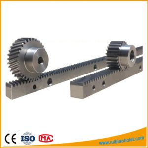 Small Rack and Pinion Gears, Helical Rack and Pinion, CNC Steel Rack pictures & photos