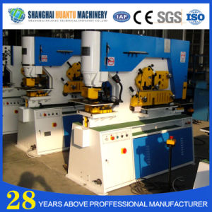 Hydraulic Iron Worker/Punch Cutting Machine/Iron Rod Cutting Machine pictures & photos