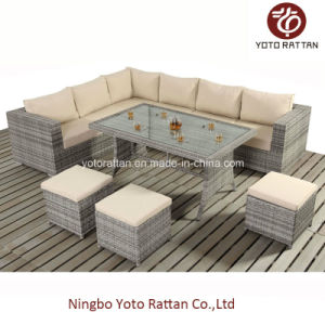 Rattan Furniture Table Corner for Outdoor with Aluminum (404) pictures & photos