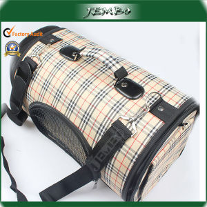 Beige Adjustable Shoulder Handle Pet Dog Travel Bag pictures & photos