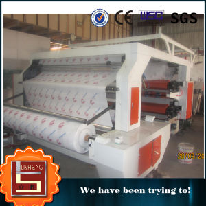 Good Quality Roll Paper and Plastic Film Flexo Printing Machine pictures & photos