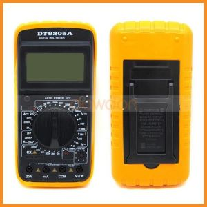 AC DC Professional Electric LCD Display Handheld Tester Meter Digital Multimeter Dt9205A pictures & photos