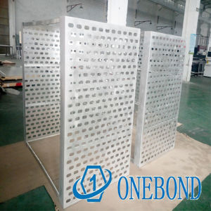 Onebond The Design of Regular Perforated Aluminum Panel for Curtain Wall Decoration pictures & photos