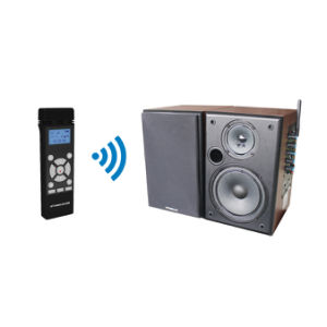 Professional 2.4GHz Wireless Microphone and Brown Speaker System pictures & photos