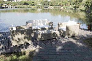 2016 New Designs Luxury Outdoor Rattan Sofa Synthetic Rattan Furniture