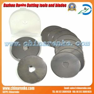 Round 60mm Rotary Fabric Cutter Blade pictures & photos