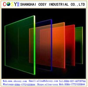 Customized 3mm Thick Acrylic Sheet Made by Shanghai China Manufacturer pictures & photos