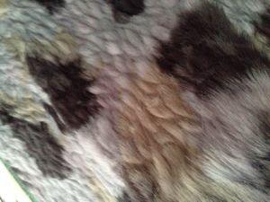 Three Color Four Color Five Color Six Color Jacquard Artificial Fur Man Made High Plush pictures & photos