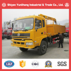 Sitom 4X2 Light Cargo Truck with Crane pictures & photos
