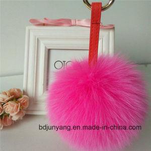 Fashion Real Fox Fur POM Poms pictures & photos