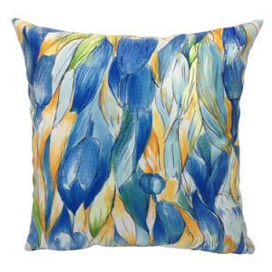 Printed Tulip Super Soft Velvet Pillow Case