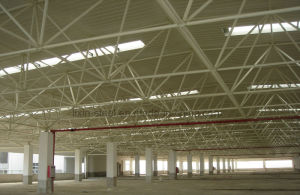 Lighting Truss Roof Steel Warehouse Building pictures & photos