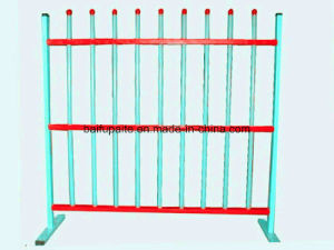 Temporary Baluster Metal Fence Rail HDG Fencing Powder Coated Aluminum Fences pictures & photos