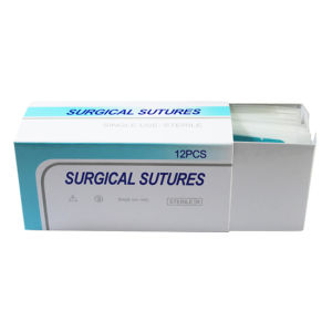 Non-Absorbable Medical Silk Suture pictures & photos