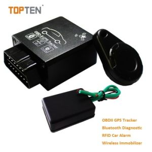 GPS OBD Tracker with 2.4G Attendance Management, Obdii Interface to Read Data From Car Tk228-Ez pictures & photos
