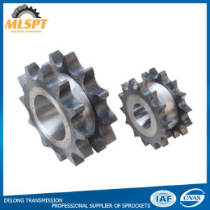 High Precision Steel Roller Chain Sprocket with Harden Teeth pictures & photos