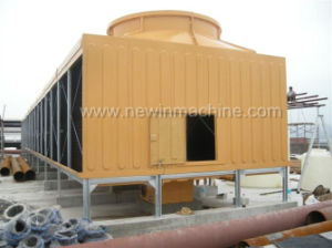 Newin Low Noise FRP Cross Flow Cooling Tower (NST-150/S) pictures & photos
