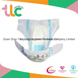 Super Absorbent High Quality Breathable Baby Diaper Babay Diaper pictures & photos