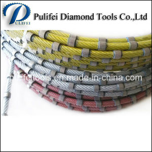 Granite Marble Concrete Cutting Sintered Beads Diamond Wire Saw pictures & photos