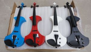 Wholesale Price Colour Solid Body Electric Violin for Sale pictures & photos