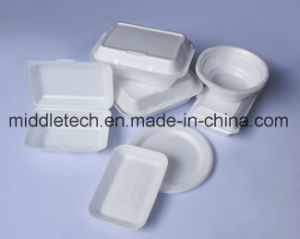 Full Automatic PS Lunch Box Foam Packing Making Machine pictures & photos