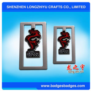 Customized Logo Silicone Bookmark pictures & photos