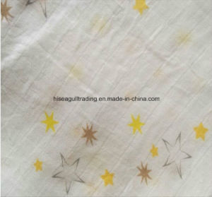 Solid Color 70%Bamboo 30%Cotton Muslin Swaddle Blanket pictures & photos