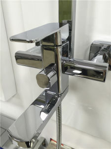 Solid Brass Sanitary Ware Square Bathroom Shower Mixer (1010) pictures & photos