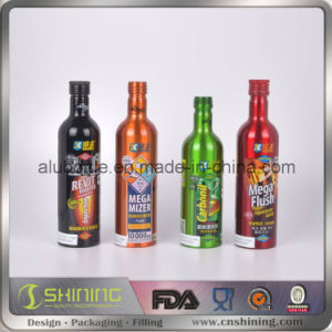 Aluminum Additive Bottle for Engine Oil pictures & photos