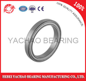 Gcr15 Chrome Steel Deep Groove Ball Bearing (61916 ZZ RS OPEN)