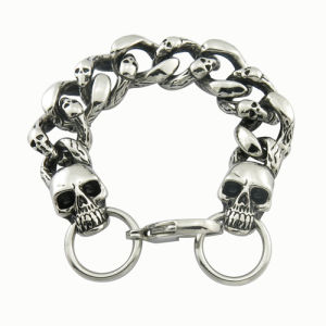 Fashion Jewelry Metal Evil Eye Antique Biker Bracelet pictures & photos