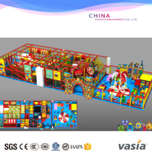 EU Standard Funny Kids Indoor Playground Equipment Candy Theme pictures & photos