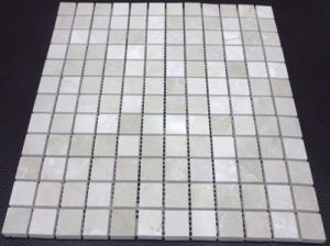 Crema Marfil Beige Marble Mosaic Wall Tile pictures & photos