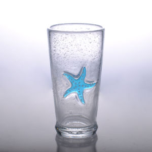 Blue Sea Star Glass Water Glass pictures & photos