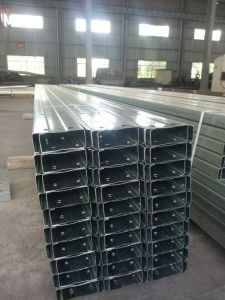 Light Weight Pre-Punched C Purlins pictures & photos