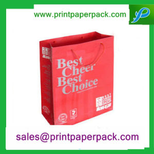 Retail Custom Printed Paper Carrier Bags for Gift Packaging pictures & photos