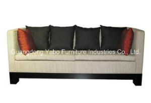 Modern Hotel Lobby Sofa with Comfortable Cushions pictures & photos