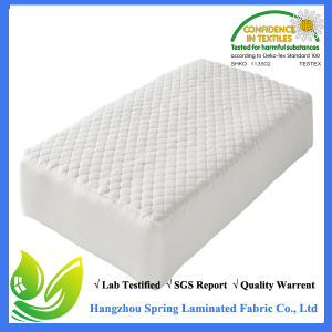 Quilted Baby Waterproof Hypoallergenic Crib Mattress Protector pictures & photos