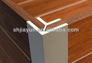 6063-T5 Anodized Aluminium Skirting Profile pictures & photos