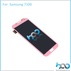 Pink LCD Display for Samsung Note 2 N7100 Touch Screen pictures & photos