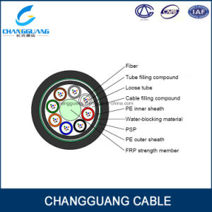 High Quality Optical Fiber Cable GYFTY53 Stranded Loose Tube Non-Metallic Strength Member Armored Fiber Optic Cable Price pictures & photos