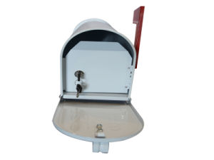 American Modern Style Metal Mailbox, Stainless Steel Letter Box pictures & photos