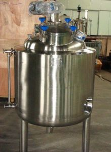 Water Jacketed Type Mixing Blending Tank Shampoo Fermentation Tank Price pictures & photos